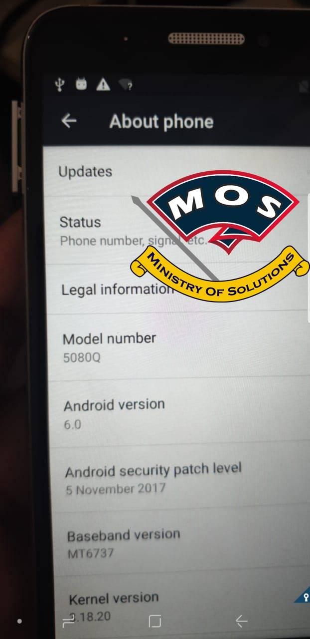 Alcatel 5080Q Network unlock code (Optus-Australia) - Ministry Of