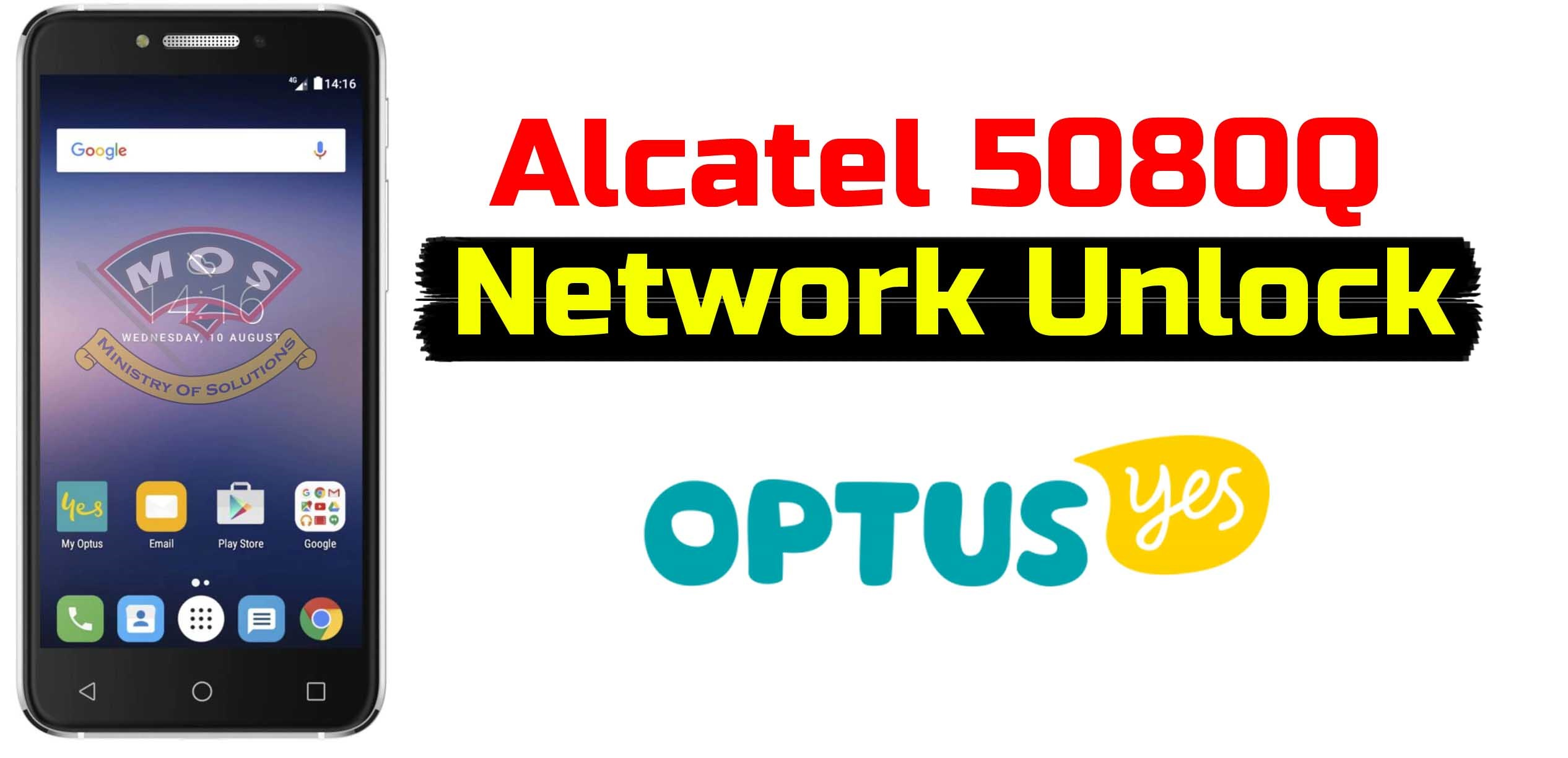 Alcatel 5080Q Network unlock code (Optus-Australia