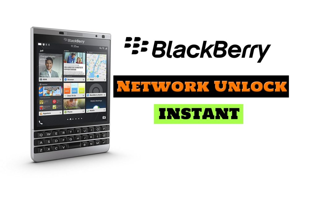 blackberry 8110 network unlock code