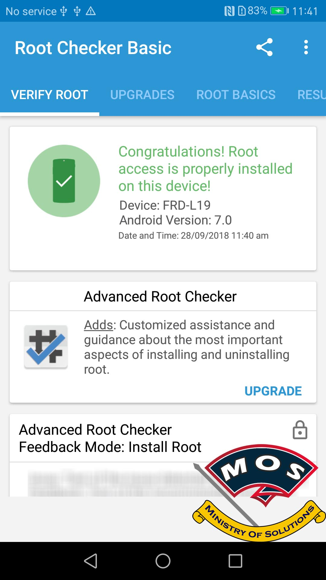 Honor 8 FRD-L09/L19 TWRP and Root (Nougat Only) - Ministry Of Solutions