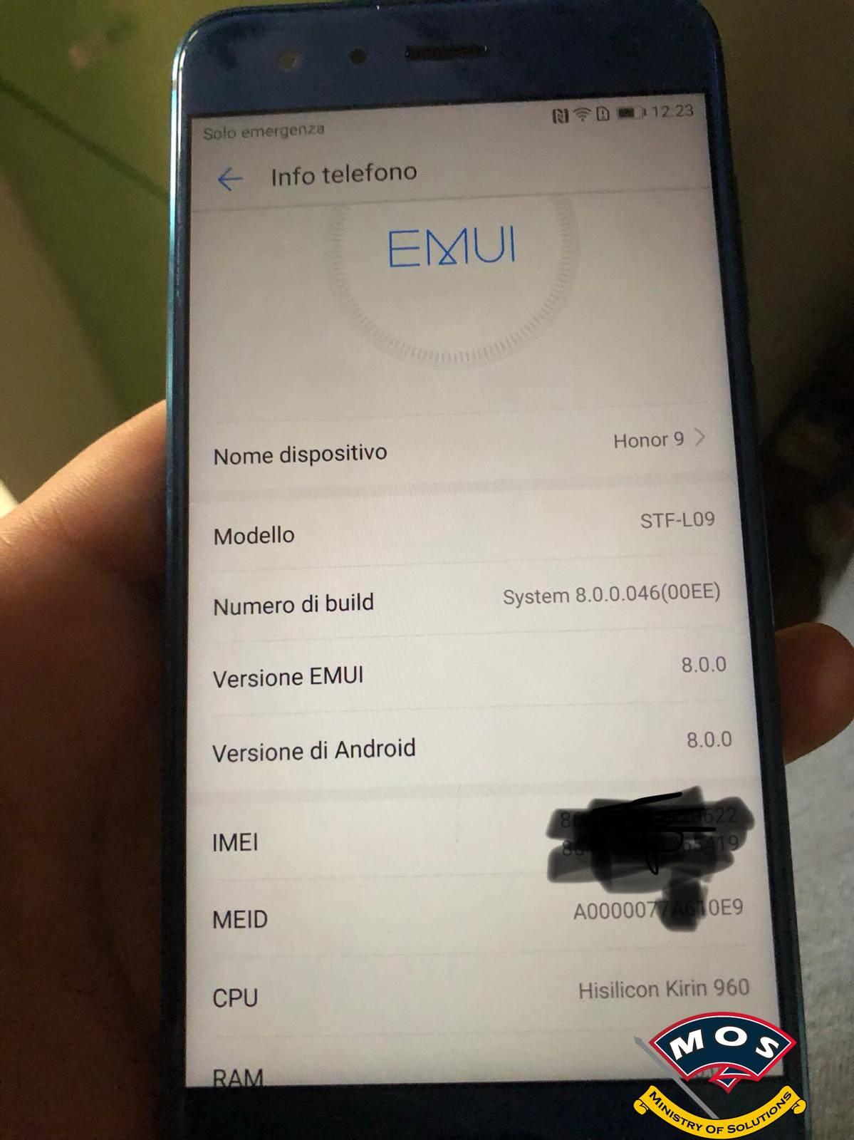 Huawei Honor 9 Chinese Model Convert to European (Paid