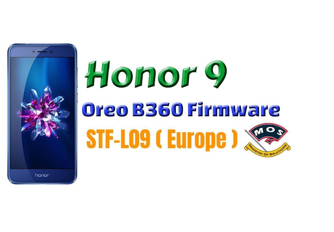 Honor 9 STF-L09 Oreo B360 Update (Europe) - Ministry Of