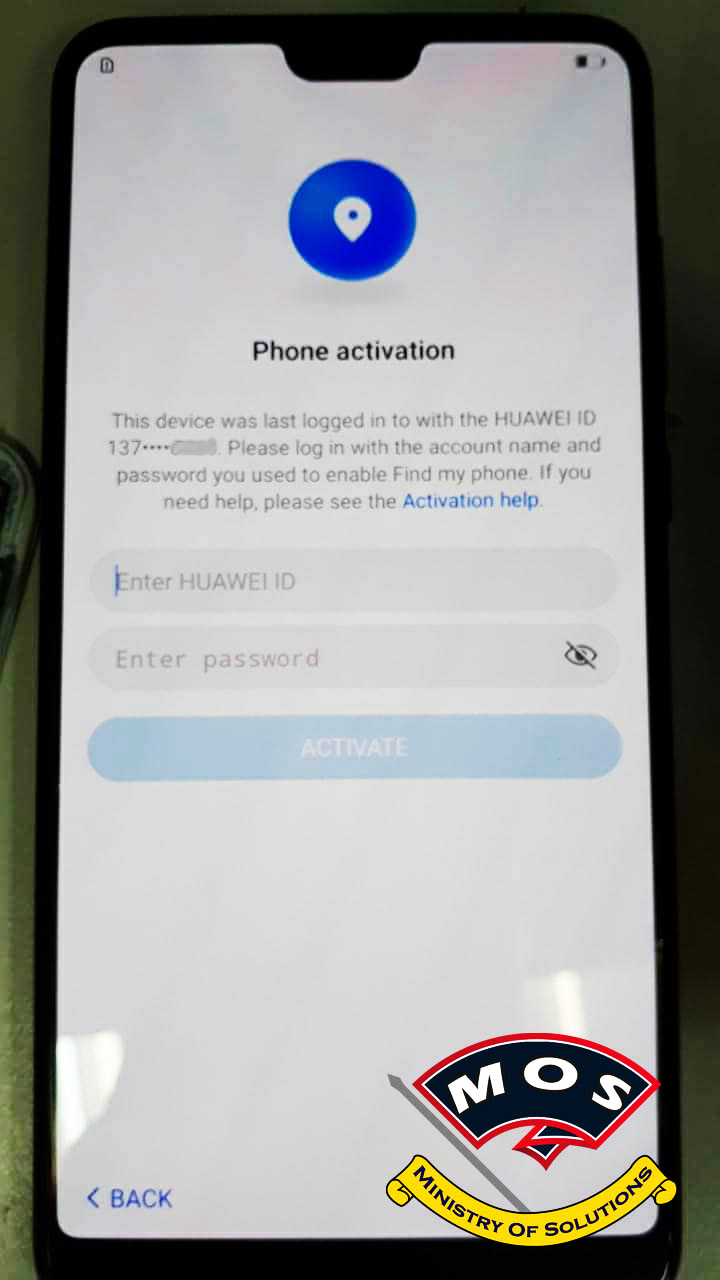 Huawei FRP Removal / Huawei ID Removal (Instant Service) - Ministry