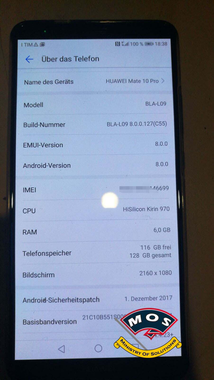 Huawei Mate 10 Pro Rebranding (Convert to Dual Sim)(Chinese