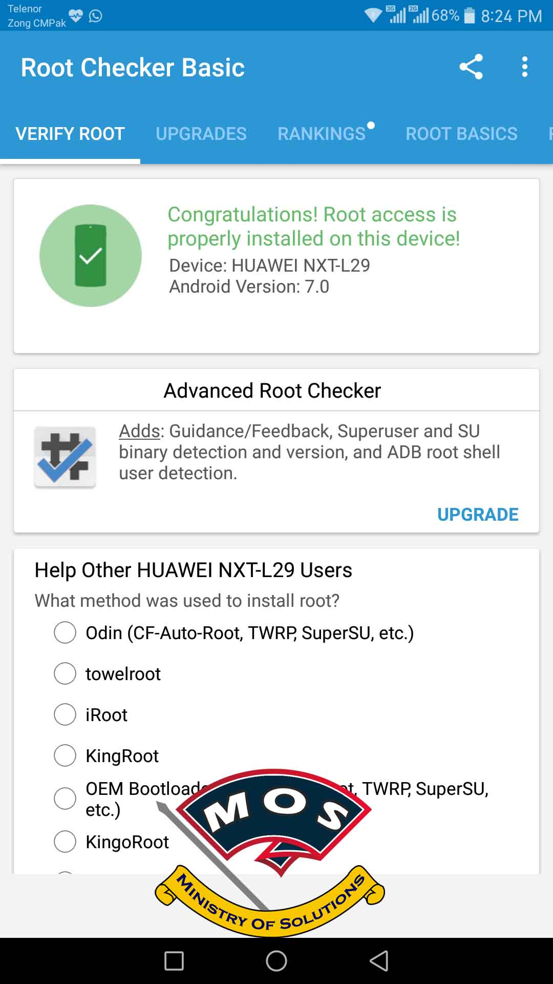 How to Root Huawei Mate 8 After Nougat Update - Ministry Of Solutions