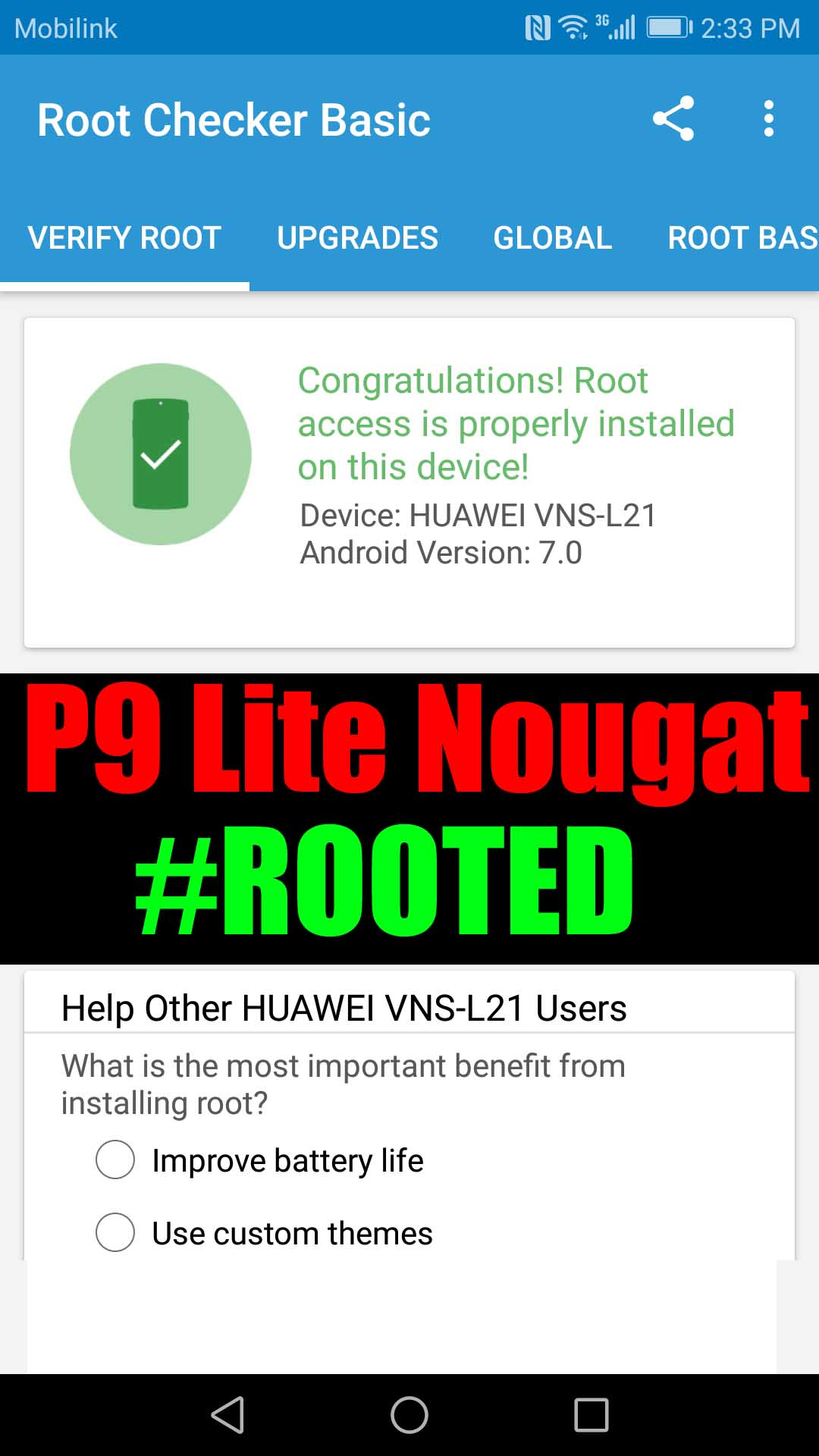 Huawei P9 Lite Nougat Root (Guide with photos) - Ministry Of