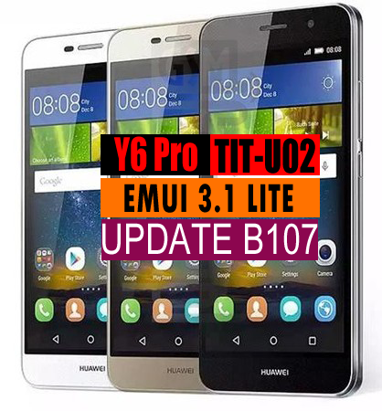 Huawei Y6 Pro TIT-U02 Firmware B107 (Middle East/Africa) Farsi