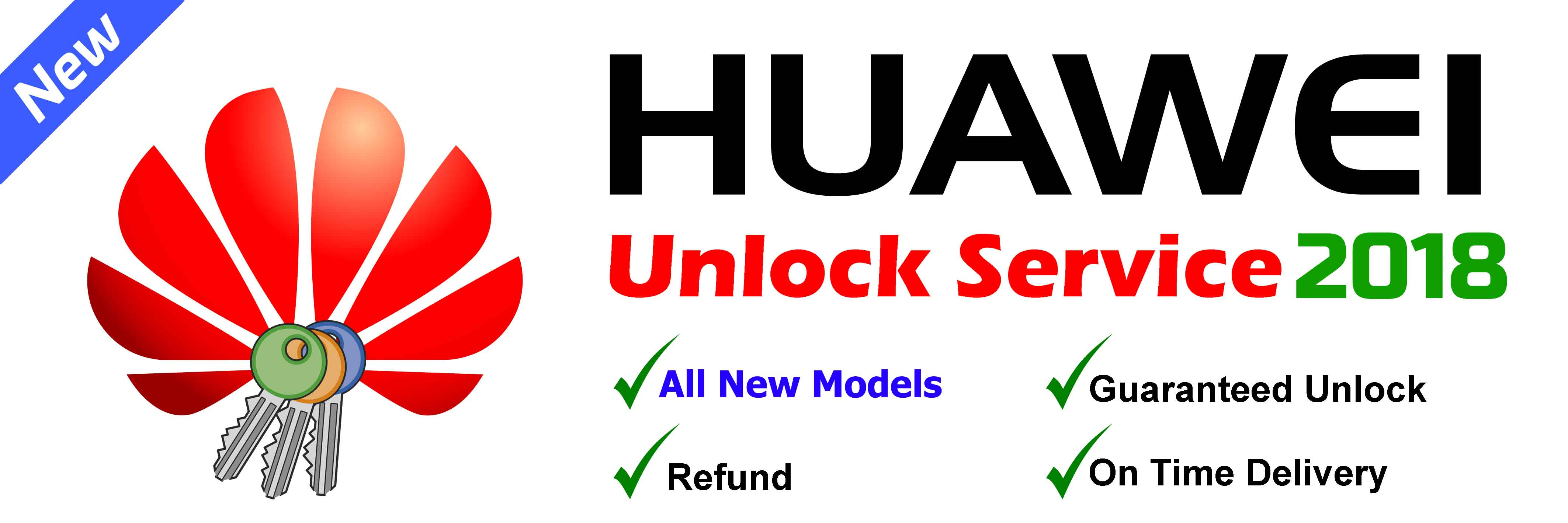 Huawei Bootloader Unlock service (All New Models / New