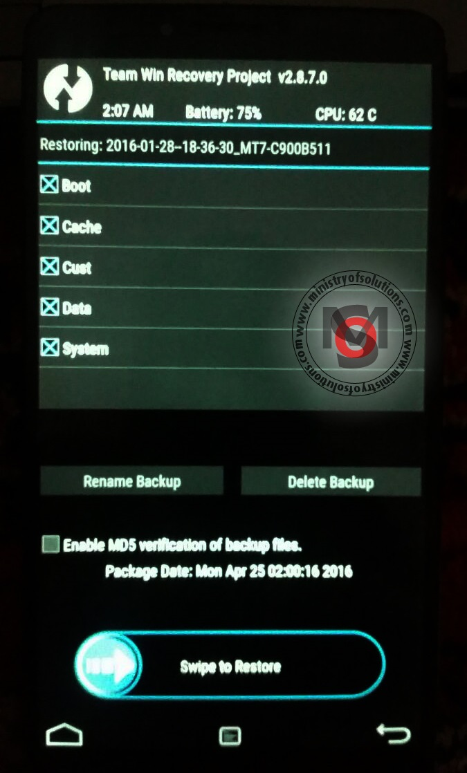 Solved] Huawei Mate 7 L09/TL10 Bootloop after Marshmallow Update