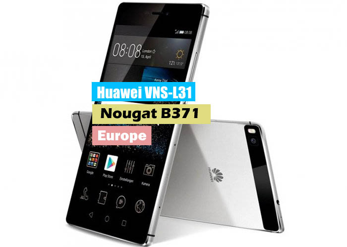 Huawei P9 Lite VNS-L31 Nougat B371 Update Stable (Europe-Single Sim