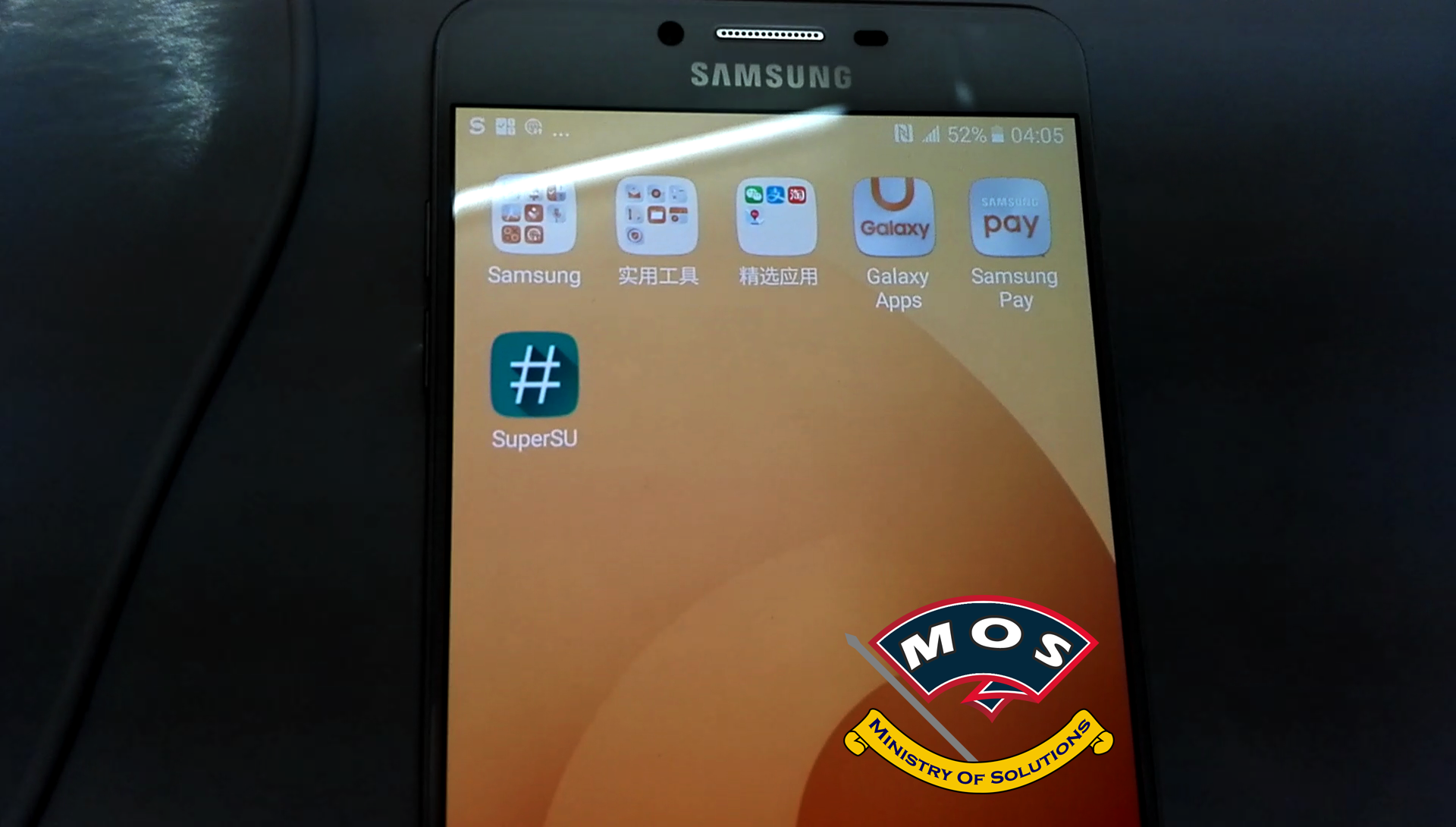 Samsung C9 Pro (SM-C9000) Rooted and Gapps Installed - Ministry Of