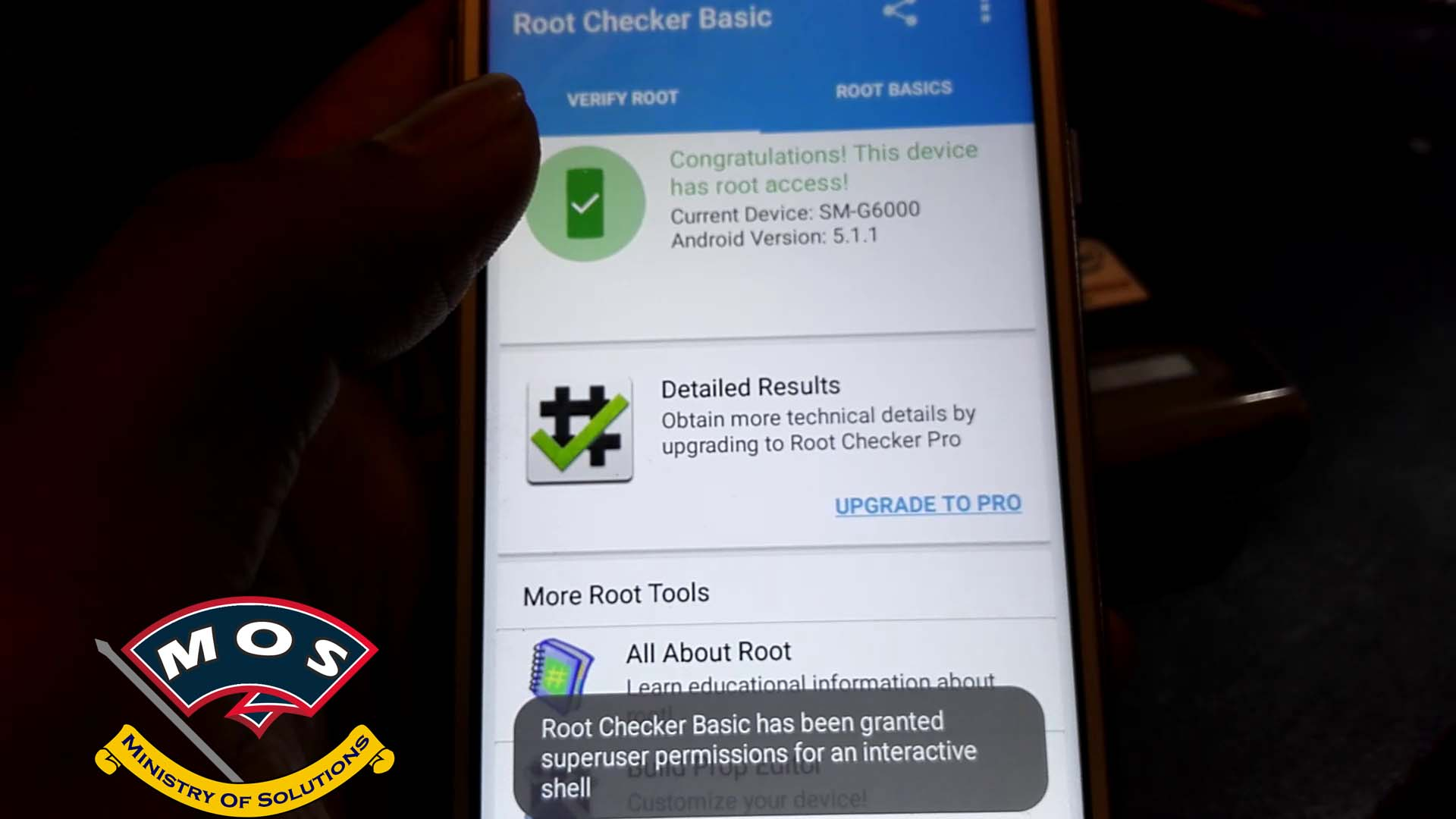 How to Root Samsung On7 SM-G6000 and Install Gapps - Ministry Of