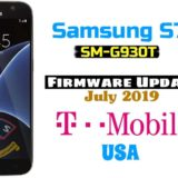 Samsung Galaxy S7 SM-G930T Firmware Update July 2019 (T-Mobile USA