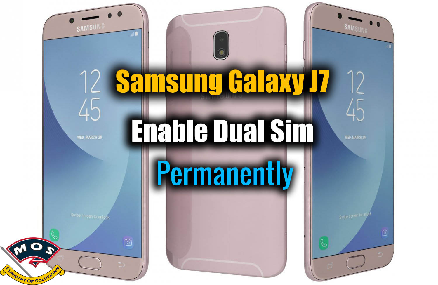 Samsung Galaxy J7 Convert to Dual Sim (Paid Service) - Ministry Of