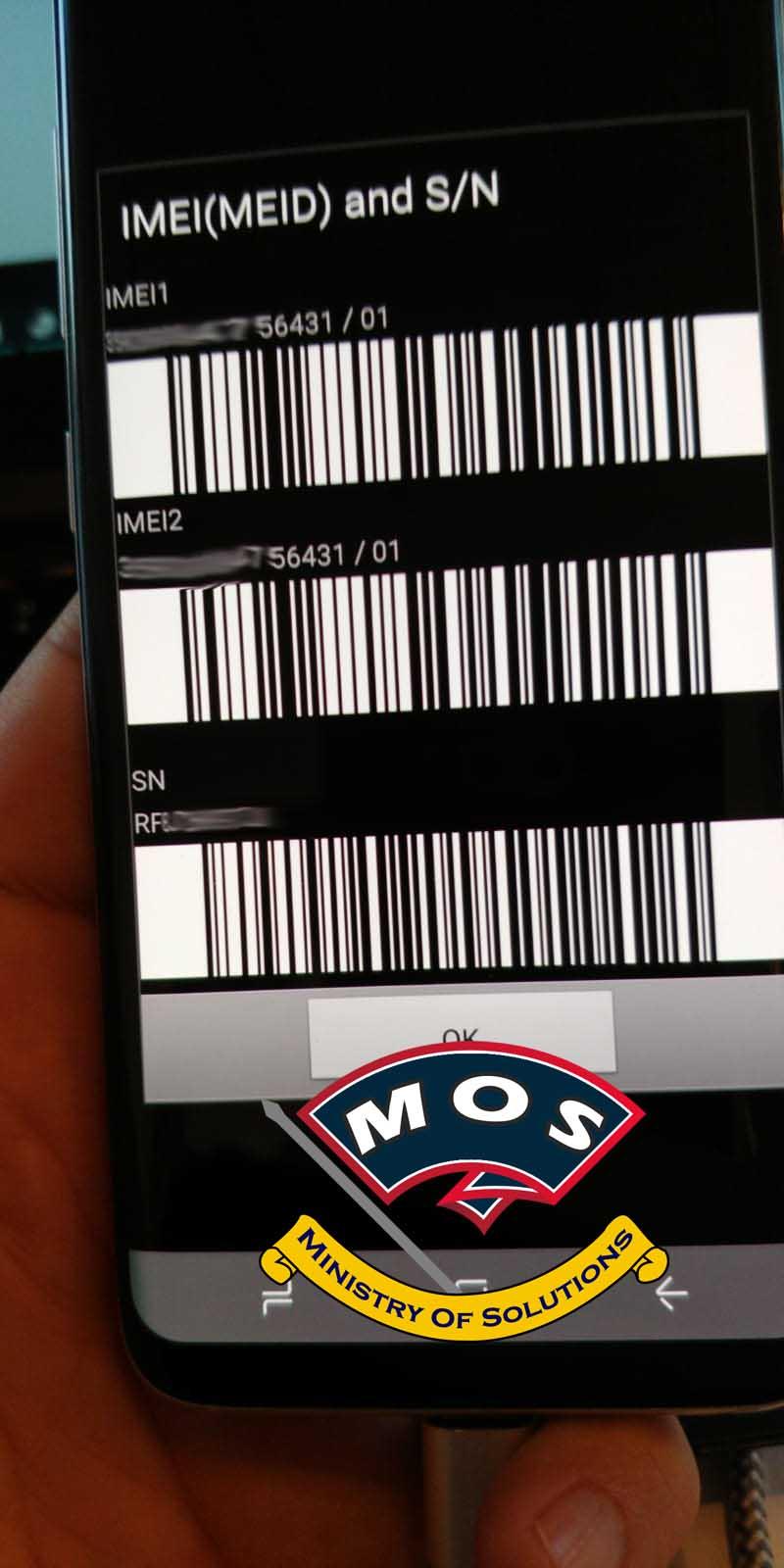 Samsung Galaxy S8 Convert to Dual Sim (Permanent) - Ministry