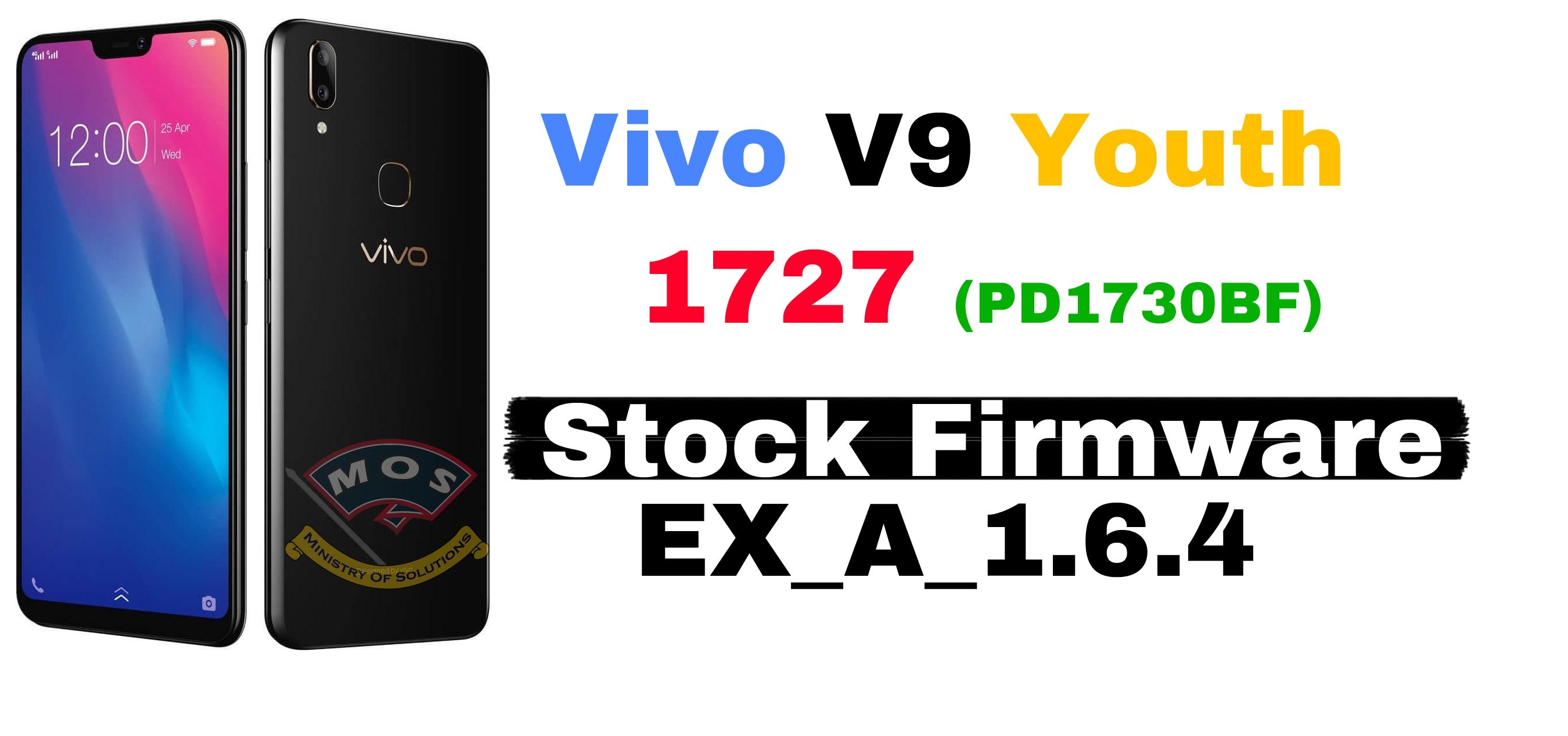 Vivo Y9 Youth 1727 (PD1730BF) Latest Firmware EX_A_1 6 4
