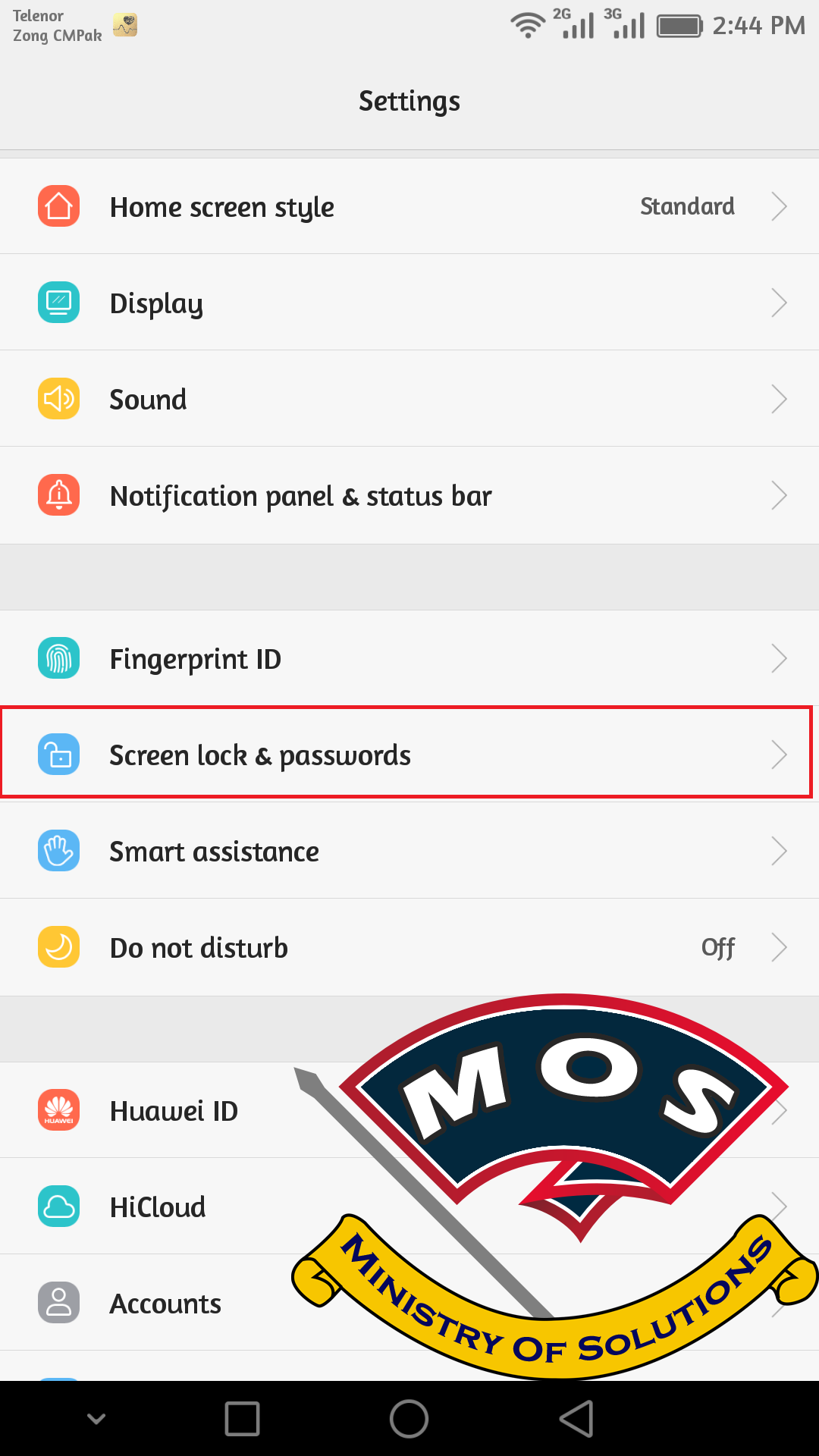 How to Disable Screen Lock on Huawei Devices - Ministry Of Solutions