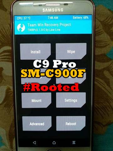 Samsung C9 Pro SM-C900F TWRP and Root Marshmallow - Ministry Of